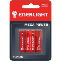 Батарейки Enerlight Alkaline Mega Power AAA LR03 1,5v 4шт