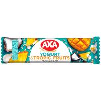 Батончик AXA зерновий Йогурт та тропічні фрукти 25г