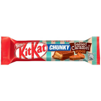 Батончик Nestle KitKat Chunky Salted Caramel Fudge 42г