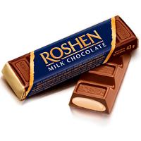 Батончик Roshen шоколадний з начинкою крем-брюле 43г