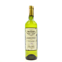 Вино Casa Veche Chardonnay Шардоне біле напівсухе 10-12% 0,75л