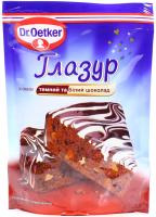Глазур Dr.Oetker темний і білий шоколад 100г х25