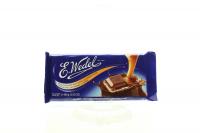 Шоколад Wedel молочний з карамелевою начинкою 100г х20