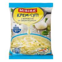 Крем-суп Мивина з вермішенню та сир. моцарела 67гр х44