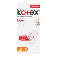 Щоденні гігієнічні прокладки Kotex Deo Normal, 20 шт.