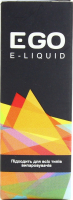 Рідина Ego E-liquid для ел/випаровувачів полуниця м`ята10мл