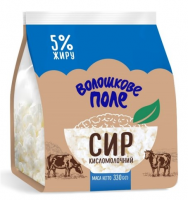 Сир кисломолочний Волошкове Поле 5% 330г