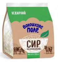 Сир кисломолочний Волошкове Поле нежирний 330г