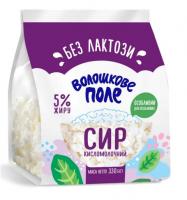 Сир кисломолочний Волошкове Поле без лактози 5% 330г