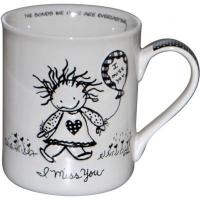 Чашка Enesco Сумую за тобою арт.118009