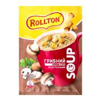 Крем-суп Rolton Грибний з крутонами 15,5г