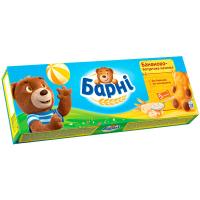 Бісквіт Ведмедик Барні з банан.-йогуртною начинкою 150г
