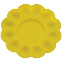 Блюдо пасхальне пластикове кольорове діам. 24,5см