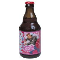 Пиво Hugo Бірмікс Малина с/п 0,33л