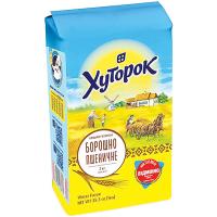 Борошно пшеничне Хуторок в/г 2кг