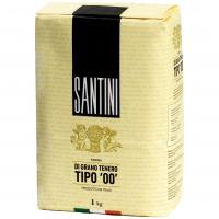 Борошно Santini пшенична Tipo `00` в/г 1кг