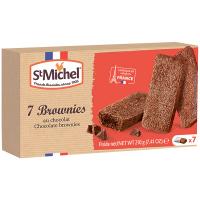 Брауні St.Michel з чорним та молочним шоколадом 210г