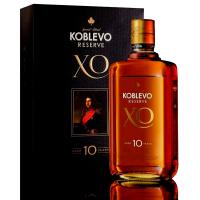 Бренді Koblevo Reserve XO 10років 40% 0,5л у коробці