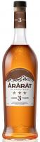 Коньяк Арарат 3* 40% 0,7л