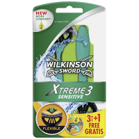 Бритви Wilkinson Xtreme 3 Sensitive 3+1шт.