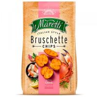 Брускети Maretti зі смаком краба 70г