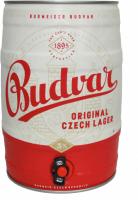 Пиво Budweiser світле фільтроване 5% ж/б 5л