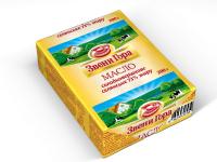 Масло Звени Гора солодковершкове селянське 73% 200г