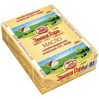 Масло Звенигора солодковершкове 73% 200г