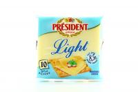 Сир President плавлений Light 20% у скибках 200г х36