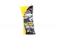 Станок для гоління BIC Metal 5шт