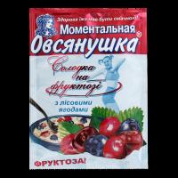 Каша Вівсянушка з фруктозою та лісовими ягодами 40г х22