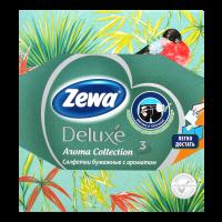 Серветки паперові косметичні Zewa Deluxe Aroma, 60 шт.