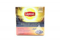 Чай Lipton чорний Orange jaipur 20*1.9г х6