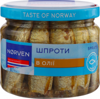Шпроти Norven в олії 300г