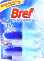 Засіб Bref Duo-Aktiv д/чищ.унітазу Океан 2*50мл