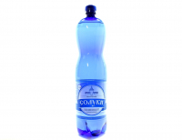 Вода мінеральна Солуки сильногазована 1,5л х6