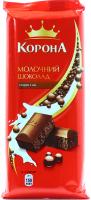 Шоколад Корона молочний пористий 90г