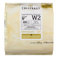 Шоколад Callebaut білий 28% 400г х7