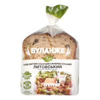 Хліб Хліб Житомира Буланже Литовський нарізаний 300г