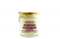 Майонез Premium Корисний на перепелиних жовтках с/б 170г х40