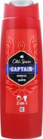 Гель для душу+шампунь Old Spice 2в1 Captain, 250 мл