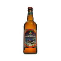 Пиво Микулин Новорічне світле живе непастеризоване 21% 0,5л с/б
