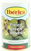 Оливки Iberica зелені б/к 420г