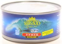Тунець Mikado шматочками у рослинній олії 185г