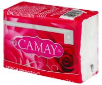 Мило туалетне тверде Camay French Romantique, 4 шт.*75 г
