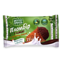Морозиво Белая Бяроза пломбір з какао у цукр.стакані 77г х60