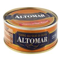 Тунець Altomar в олив. олії ж/б ключ 160г