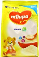 Каша Milupa Nutricia молочна суха манна 210г х9