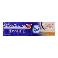 Зубна паста Blend-A-Med 3D White Кокосова Олія, 100 мл
