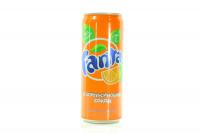 Вода Fanta з апельсиновим соком 0.33л х12